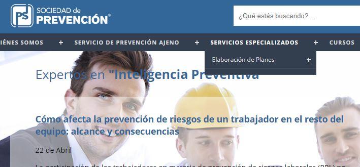 Cómo afecta la prevención de riesgos de un trabajador en el resto del equipo. Artículo publicado en PS Prevención
