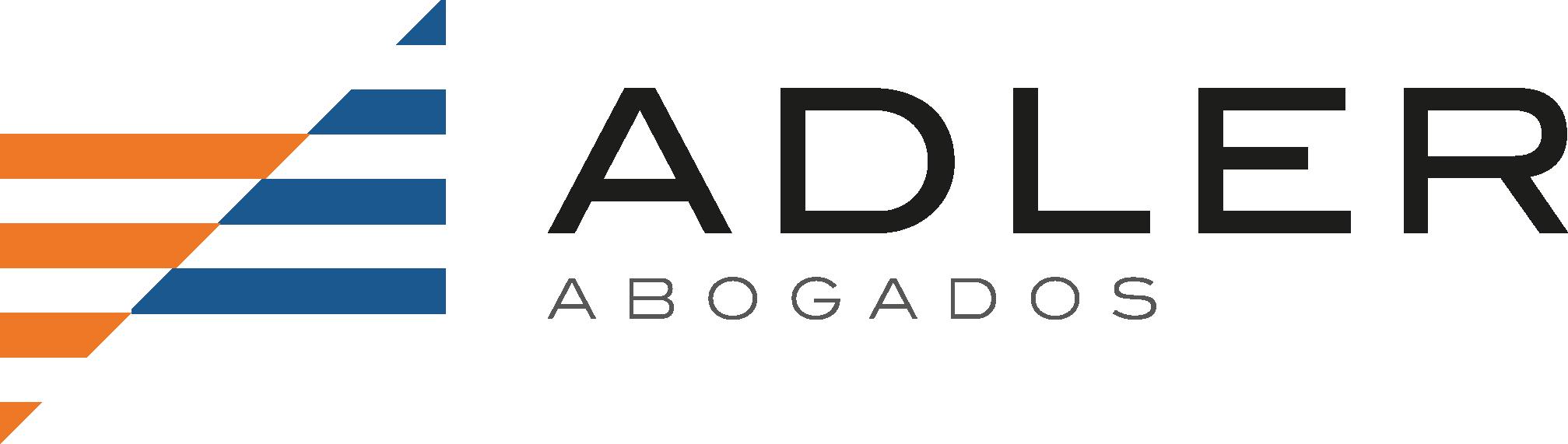 Adler abogados logotipo